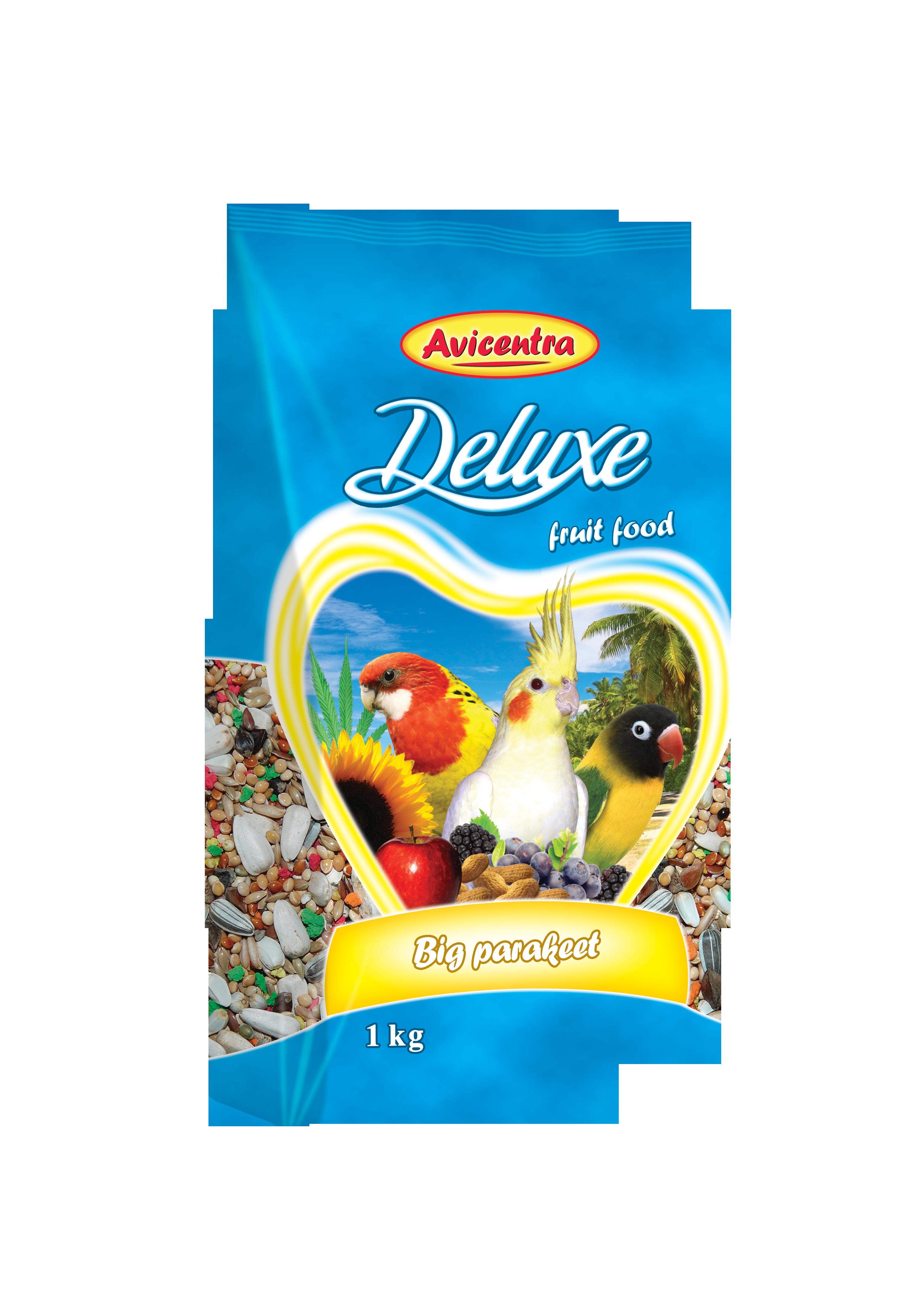 Avicentra s.r.o. Malý a střední papoušek delux 1 kg