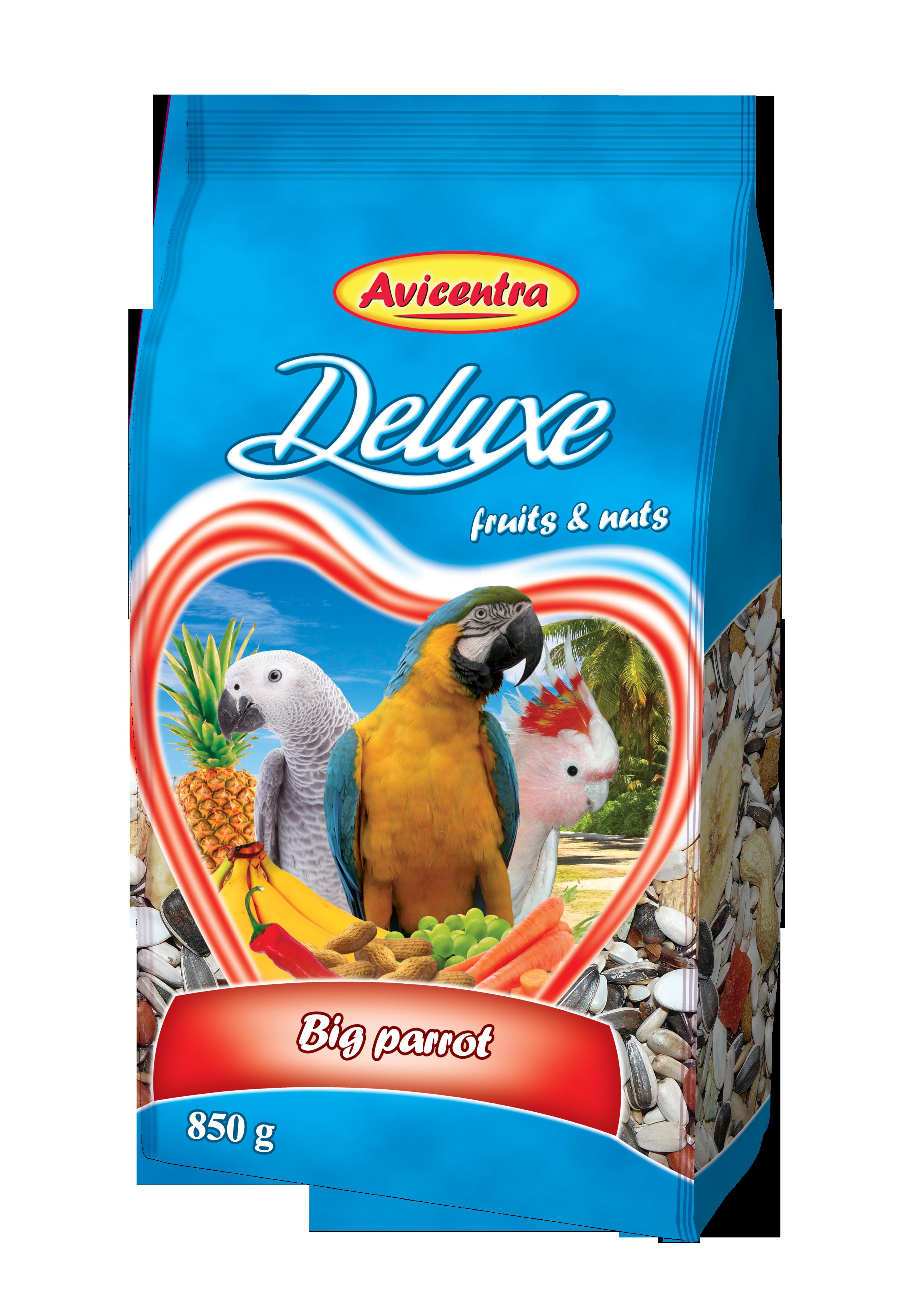 Avicentra s.r.o. Velký papoušek delux 850 g
