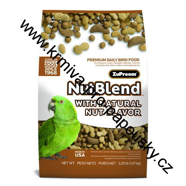Premium Nutritional Products Granule ZuPreem NutBlend 7,94 kg - expedice 5 dnů