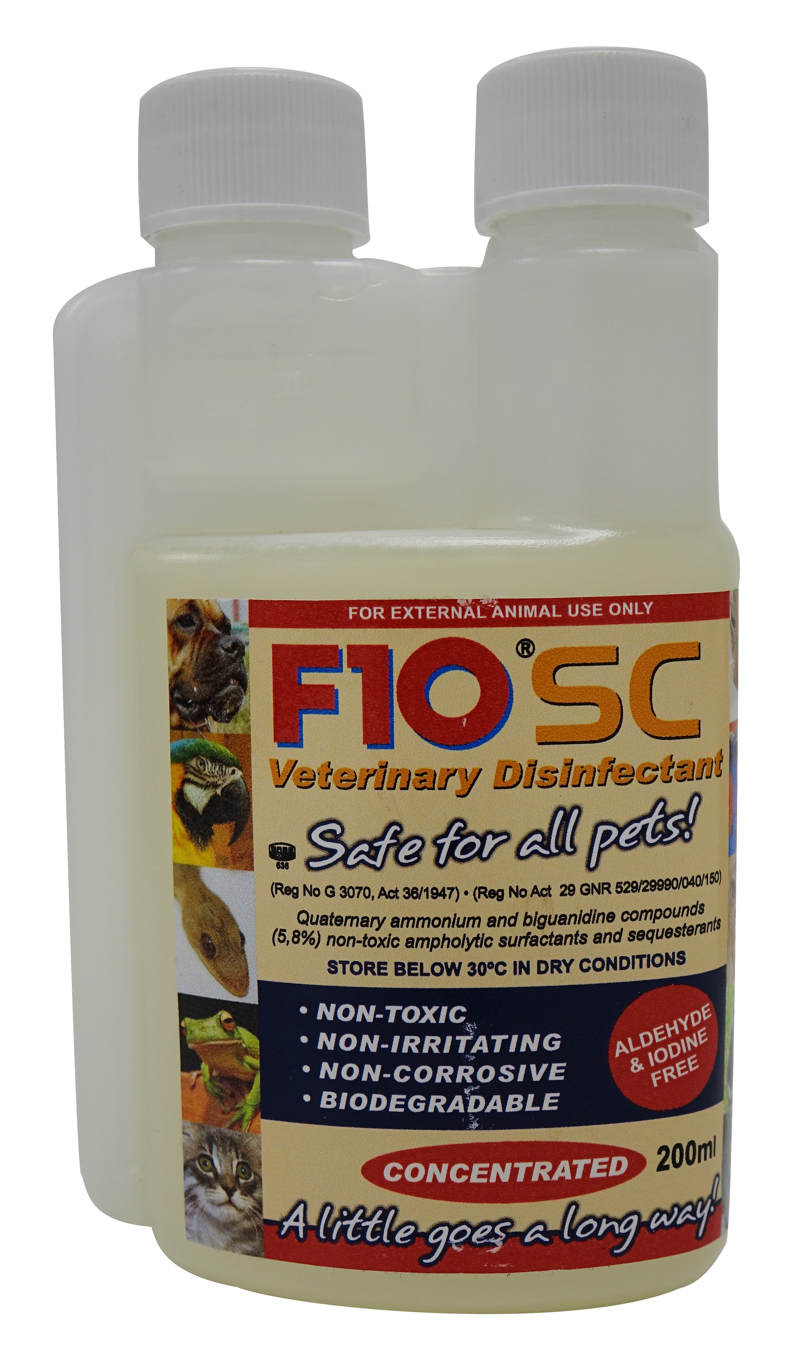 Health and Hygiene(Pty) F10SC desinfekce  200 ml