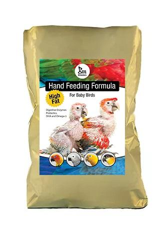 GM Breeders High Fat Hand Feeding Formula for Baby Birds 1 kg