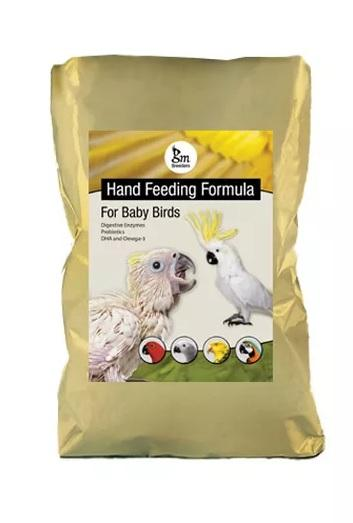 GM Breeders Hand Feeding Formula for Baby Birds 2 kg