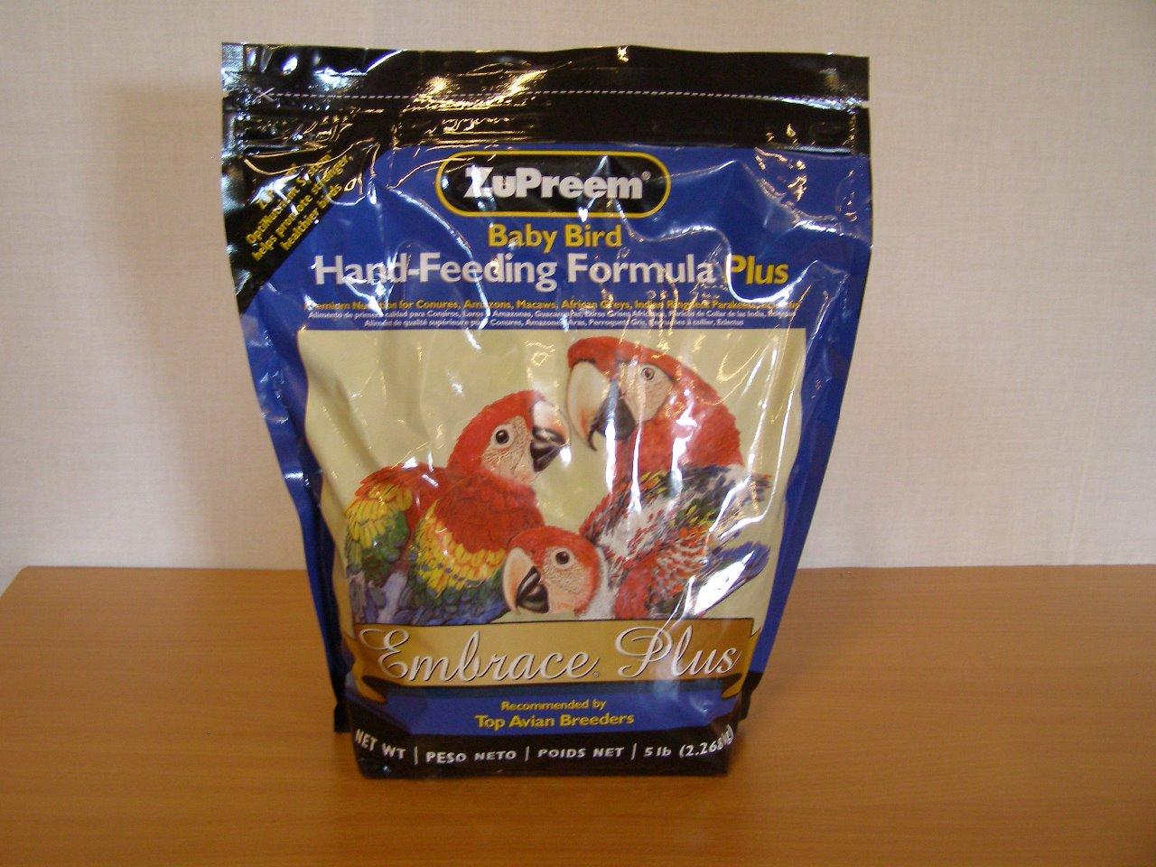 Premium Nutritional Dokrmovací směs ZuPreem Hand Feeding Embrace Plus 2,27 kg