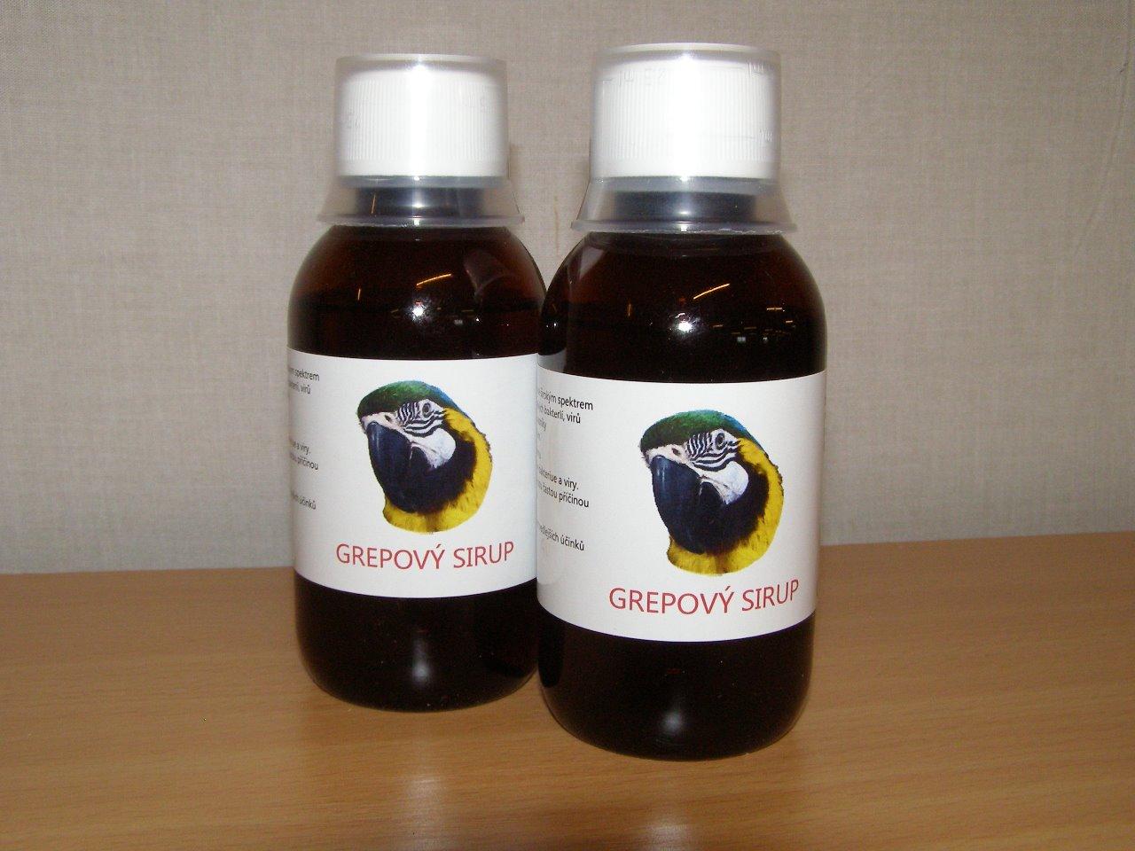 Medin Terra GREPOVÝ SIRUP přírodní antibiotikum 150 ml