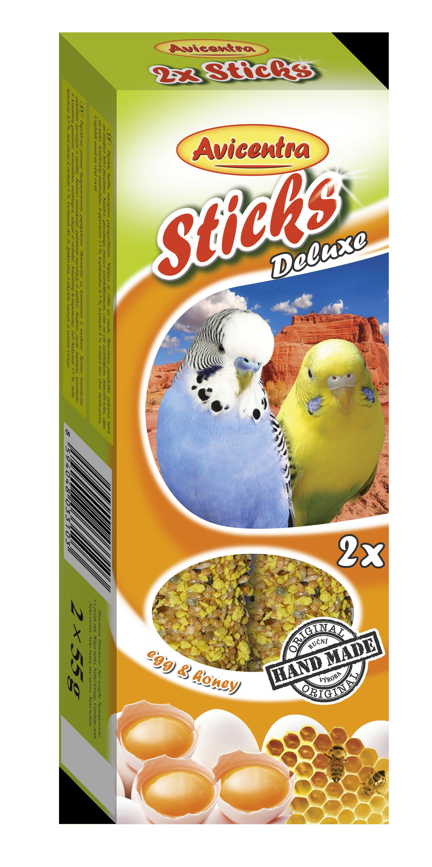 Avicentra s.r.o. Tyčinky andulka vejce + med 2 ks 110 g