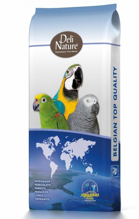 Beduco 60 Deli Nature pro střední a velké papoušky s ořechy 15 kg