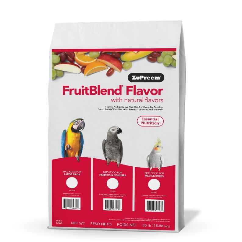 Premium Nutritional Products Granule ZuPreem FruitBlend L 7,94 kg