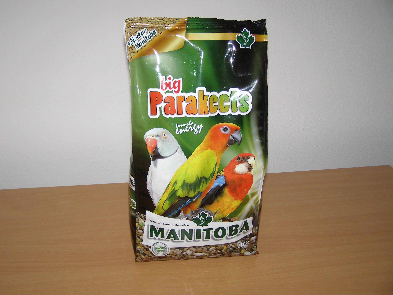 Manitoba Big Parakeet Energy 2 kg pro střední papoušky s vitamíny