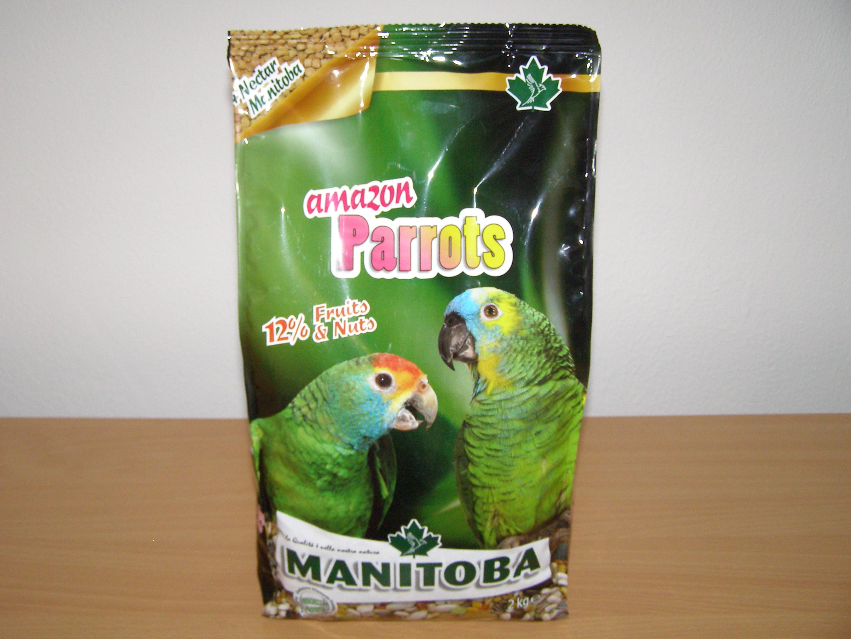 Manitoba Amazon Parrots 2 kg pro amazoňany