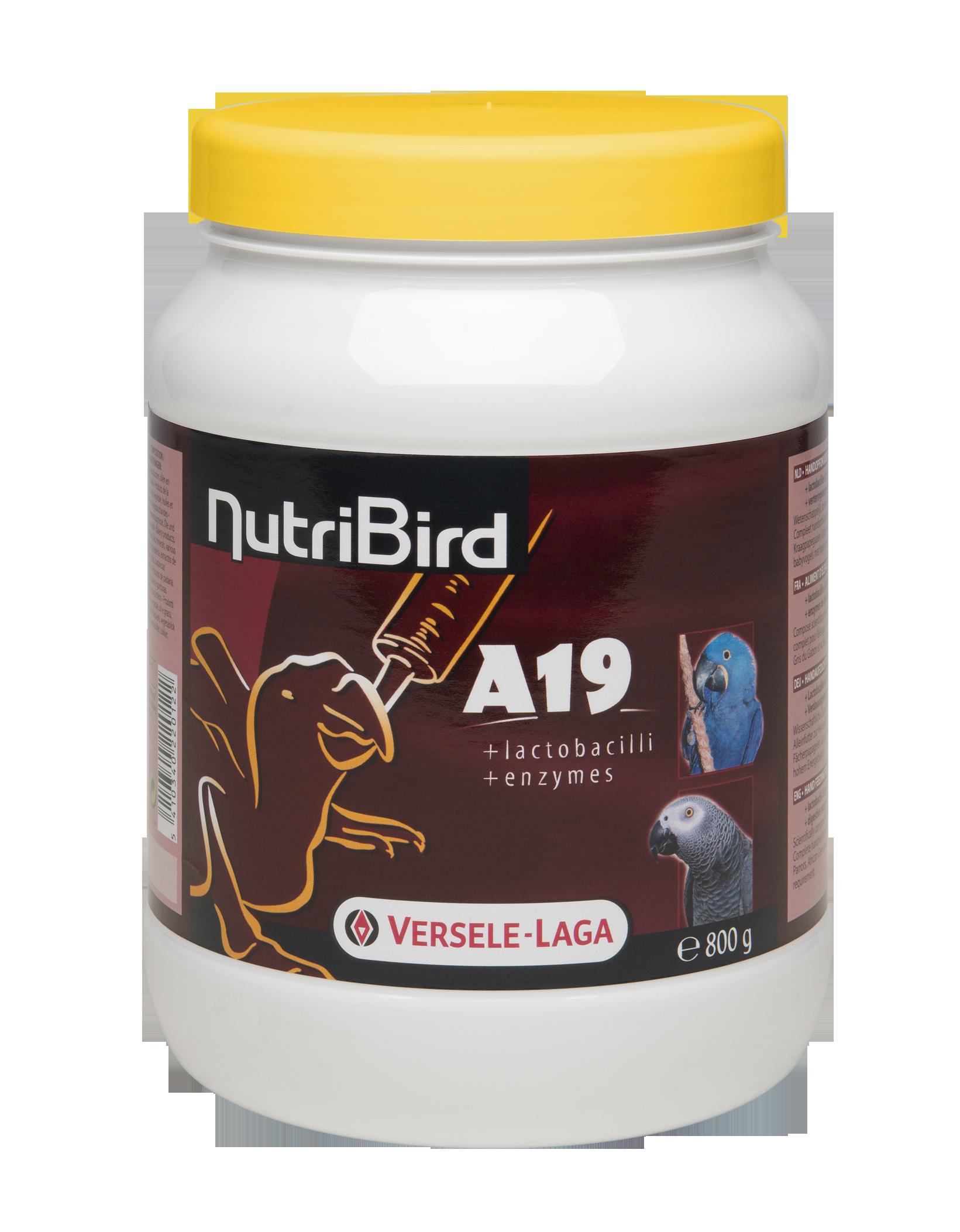 VERSELE-LAGA Dokrmovací směs Nutribird A19 800 g