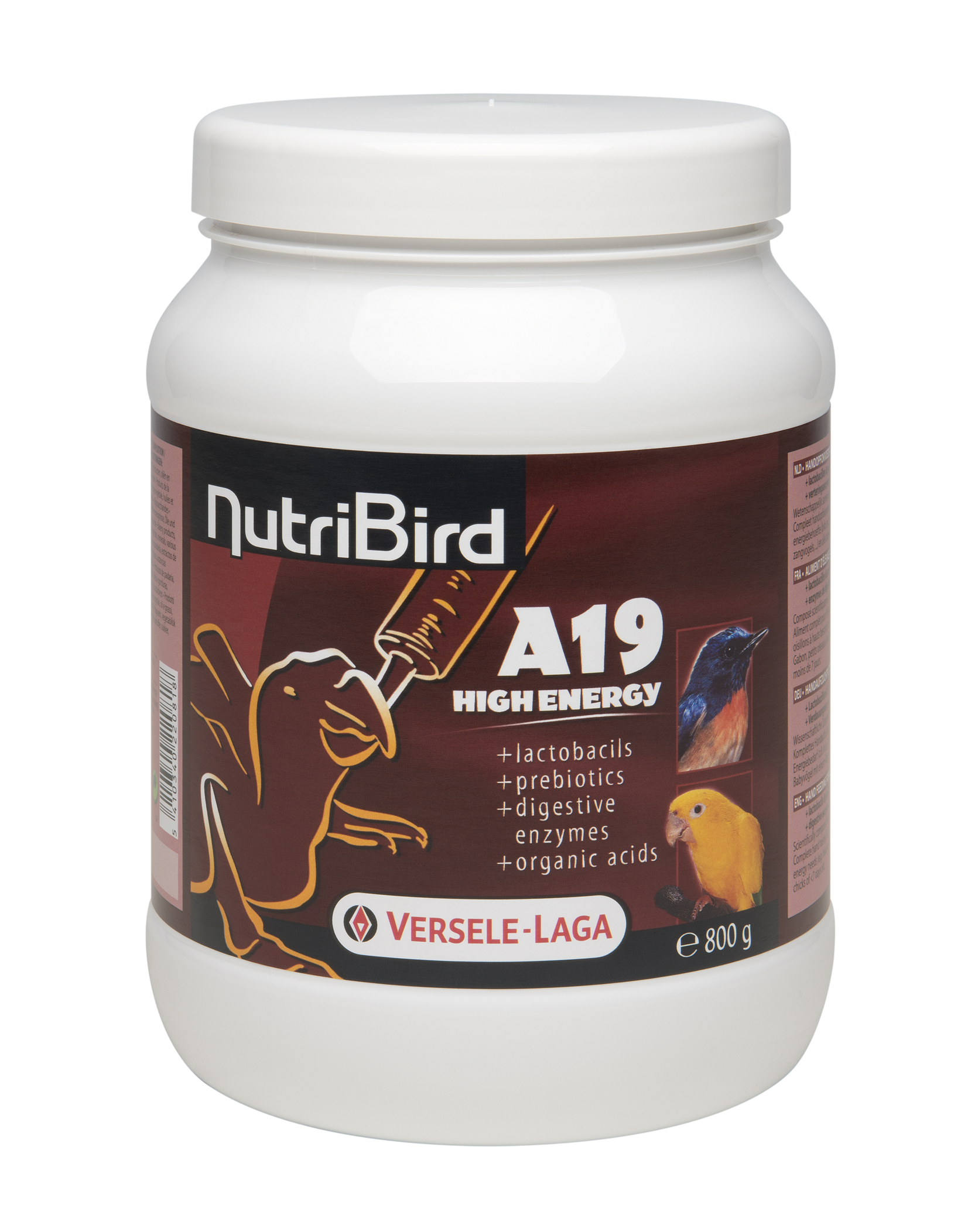 VERSELA-LAGA Dokrmovací směs NutriBird A19 High Energy 800 g