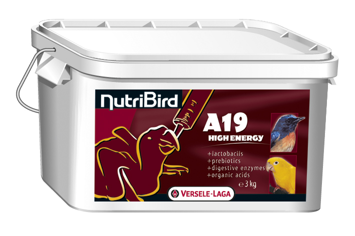 VERSELE-LAGA Dokrmovací směs NutriBird A19 High Energy 3 kg