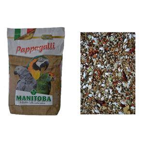 Manitoba Pappagalli Light 15 kg dietní směs pro střední a velké papoušky