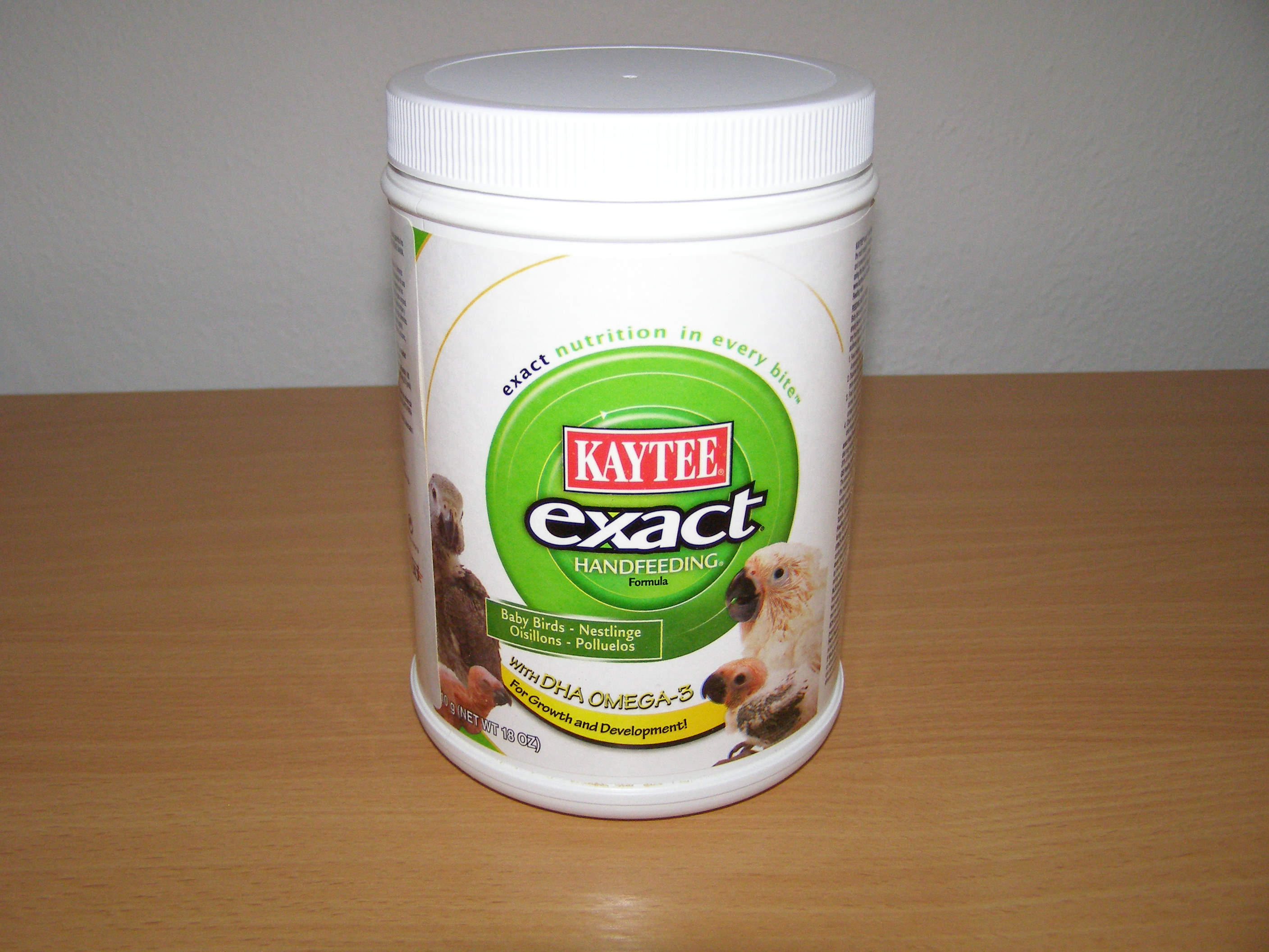 Kaytee Products Dokrmovací směs Exact Hand Feeding All Baby Birds s DHA 510 g