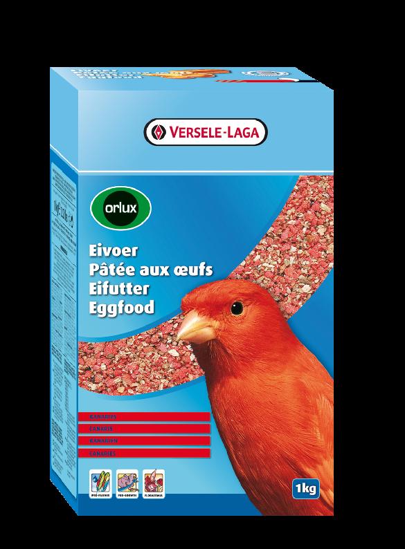 ORLUX vaječné krmivo suché pro červené kanáry 1 kg