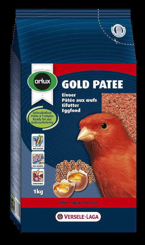 ORLUX vaječné krmivo vlhčené s medem pro červené kanáry 1 kg