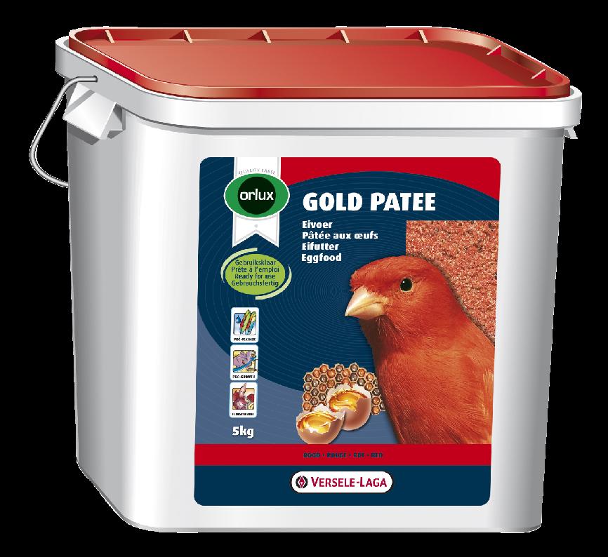ORLUX vaječné krmivo vlhčené s medem pro červené kanáry 5 kg - na dotaz