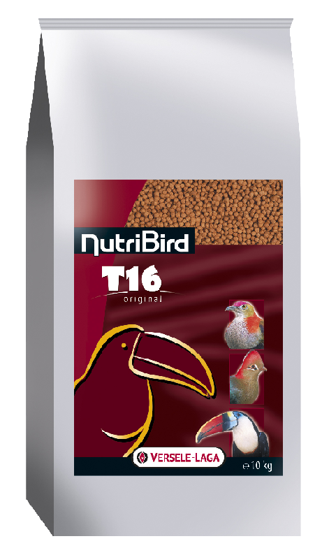 VERSEL-LAGA Granule NutriBird T16 Originál 10 kg