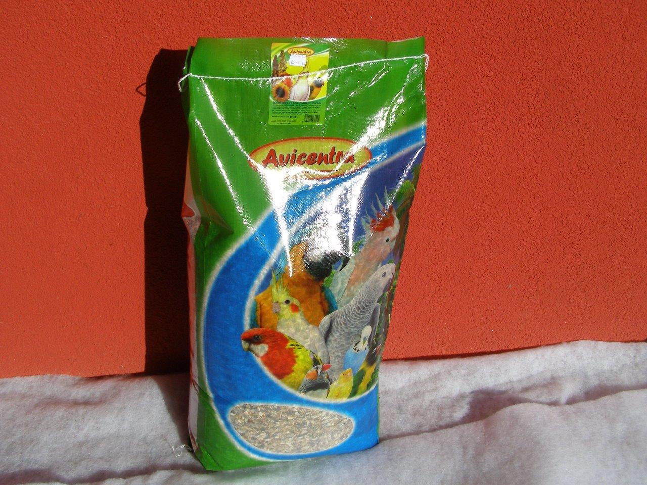 Avicentra s.r.o. Malý a střední papoušek classic 25 kg