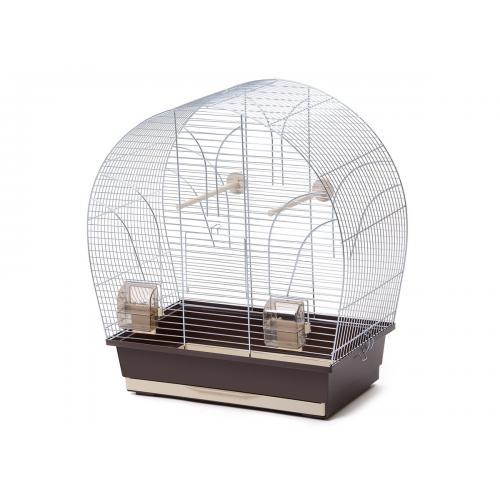Inter-zoo klec TINA pozink + světlehnědá 51 x 28 x 55 cm. Barevné provedení dle aktuální nabídky.