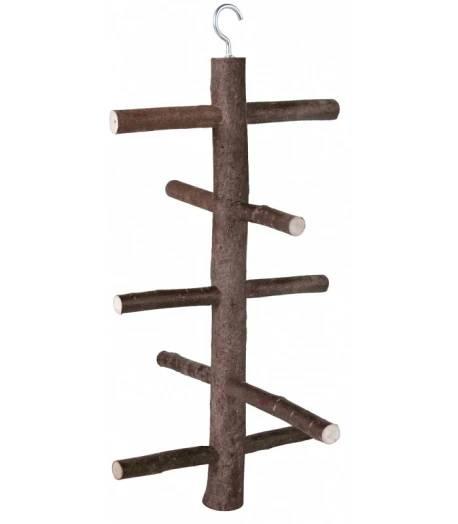 Trixie dřevěná houpačka do voliéry 5 příček 47 cm / 18 cm