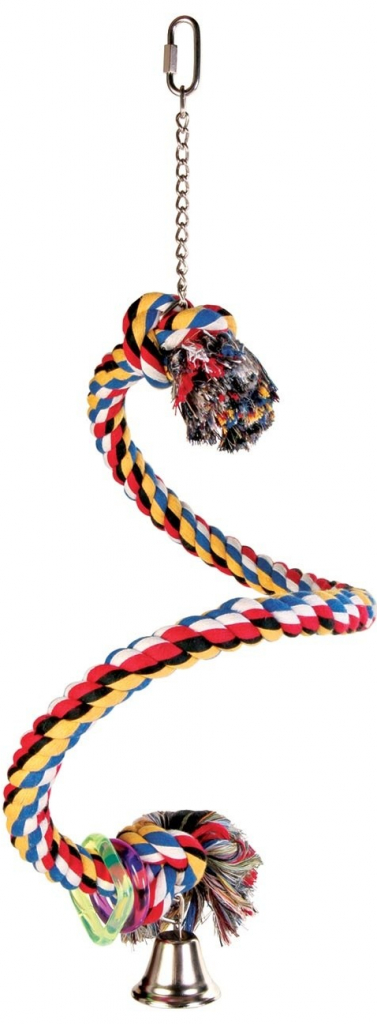 Trixie houpačka bavlněné lano spirála 50 cm
