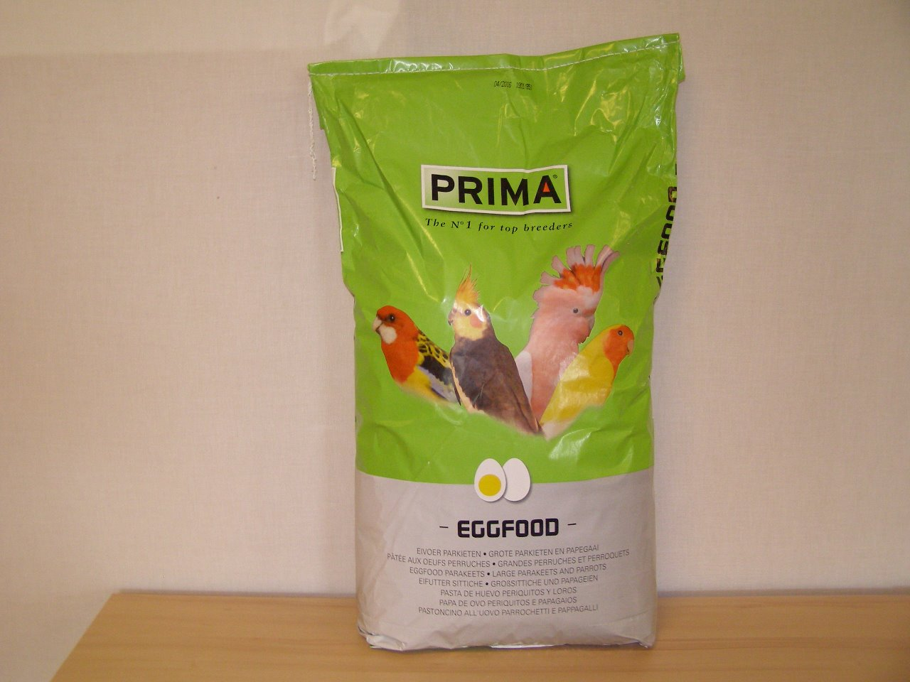 CéDé N.V., Belgie Vaječné krmivo PRIMA s hmyzem a korýši 15 kg