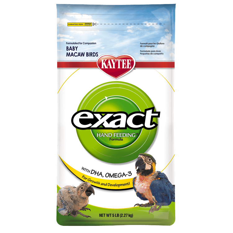 Kaytee Products Dokrmovací směs Exact Hand Feeding Macaw s DHA 2,27 kg