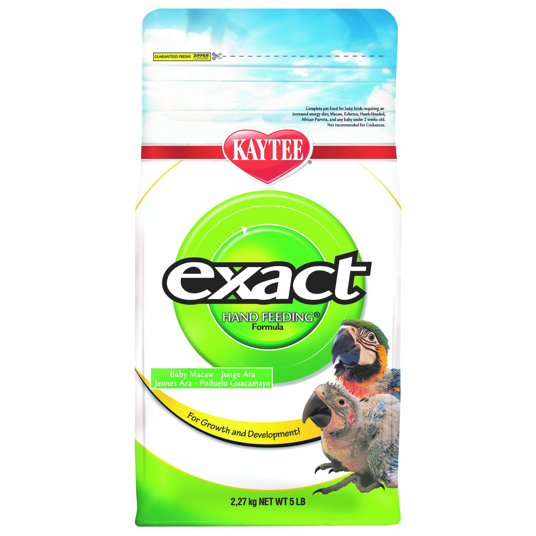 Kaytee Products Dokrmovací směs Exact Hand Feeding Macaw 2,27 kg